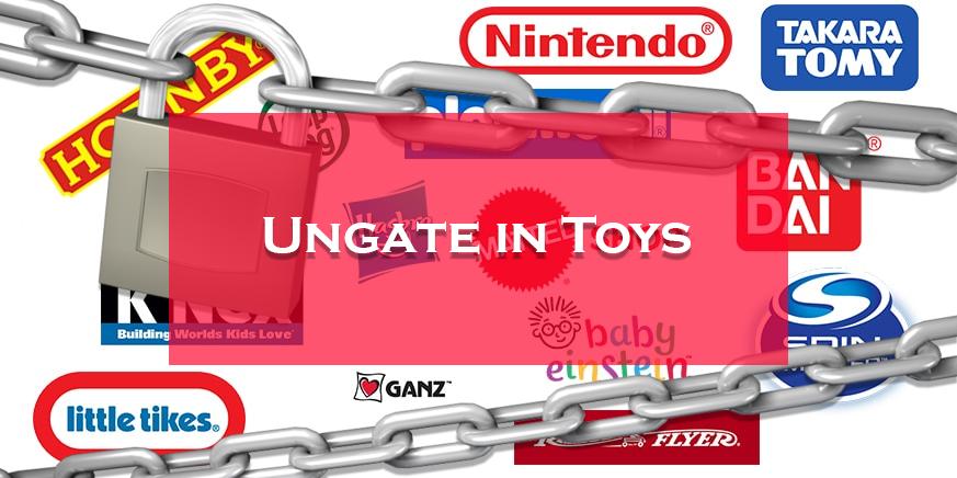 ungate in toys